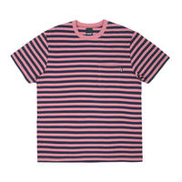 Only NY Nautical Stripe Pocket T-Shirt (Nantucket Red)