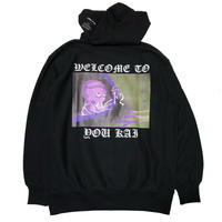 LONELY論理  GENTEN KAIKI  WELCOME TO YOU KAI 2 HOODIE (BLACK)