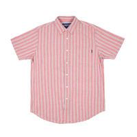Only NY Blue Point Short Sleeve Shirt (Salsa)