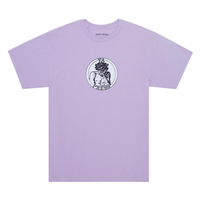 FUCKING AWESOME  FA Press Tee  (Orchid, Black)