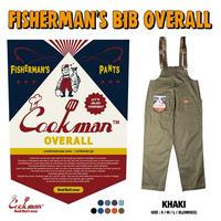 Cookman Fisherman's Bib Overall (Khaki)