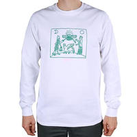 Theories Dagon L/S Tee Artwork by Joel Matheson (White)