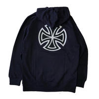 INDY BAR/CROSS HOODIE (NAVY)