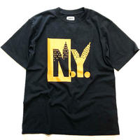THUMPERS NYC NY S/S TEE (BLACK, WHITE)