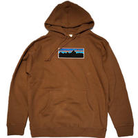 ATTACK ORIGINAL Pataxxnia UFO HOODIE (BROWN)