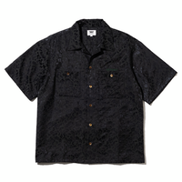 坩堝 RUTSUBO LEOPARD SHIRTS (BLACK, GOLD, CHARCOAL)
