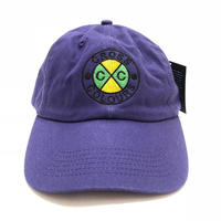 CROSS COLOURS CLASSIC EMBROIDERED DAD HAT (PURPLE)