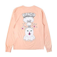 RIPNDIP MIND BLOWN L/S (PEACH)