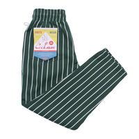 Cookman Chef Pants 「Stripe」 (DARK GREEN)