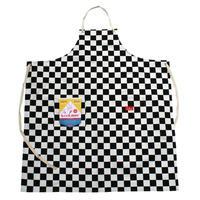Cookman Long Apron (Checker)