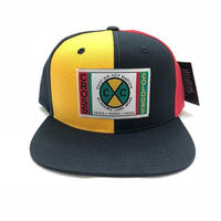 CROSS COLOURS COLOR BLOCK DENIM SNAPBACK (MULTI)
