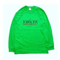 JOHN SOFIA  Logo  Long  Sleeve(Lime)