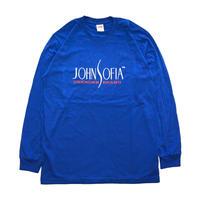 JOHN SOFIA  Logo  Long  Sleeve(Royal Blue)