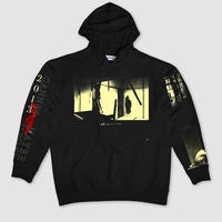 MAYBE TODAY × CANNES2013 GHOSTS HOODIE (BLACK)
