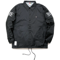 FESN ARM LOGO C-JACKET (BLACK, NAVY)