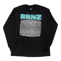 BRONZE BRNZ L/S TEE (BLACK)