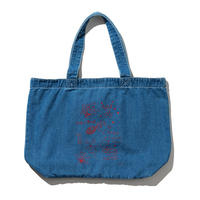 坩堝 RUTSUBO GO HOME TOTE BAG 「RUTSUBO×aimi odawara」(DENIM BLUE)