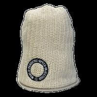 LIBE BRAND UNIVS.  W.P.S.I. CIRCLE SUMMER KNIT CAP (WHITE, NAVY, BLACK)