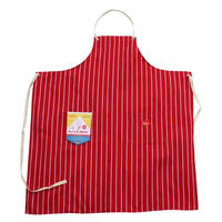 Cookman Long Apron (Red)