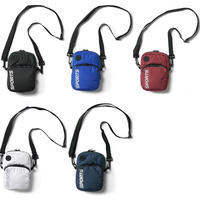 INTERBREED Water-repellent Daily Mini Shoulder (Black, Blue, Burgundy, Navy, White)