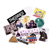 Theories Emblem Sticker Pack (13 stickers)