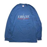 JOHN SOFIA Logo  Long  Sleeve  (Dusty Light Blue)