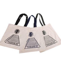 Theories Scribble Tote Bag (Black, Navy, Forest)