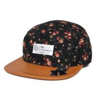 DL Headwear Omega 5Panel Camp Cap (black liberty)