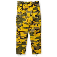 ROTHCO COLOR CAMO TACTICAL BDU PANTS (STINGER YELLOW CAMO)