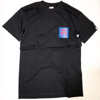 THUMPERS NYC CHEST COLOR BOX LOGO S/S TEE (BLACK)