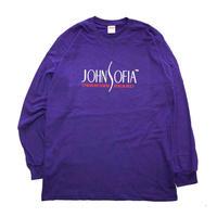 JOHN SOFIA  Logo  Long  Sleeve (Purple)