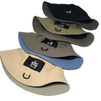 SLOW UP D-RING METRO HAT (BLACK, GRAY, BEIGE, OLIVE)