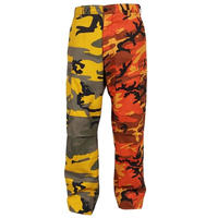 ROTHCO TWO TONE CAMO BDU PANTS (STINGER YELLOW×SAVAGE ORANGE CAMO)