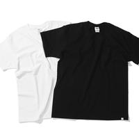 坩堝 RUTSUBO  STANDARD POCKET TEE (WHITE, BLACK)