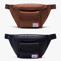 INDEPENDENT × HERSCHEL Seventeen Hip Pack (Saddle Brown, Black)