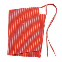 Cookman Waist Apron (Stripe Orange)