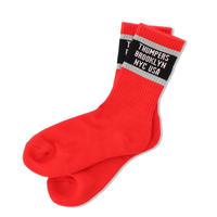 THUMPERS BASIC LOGO SOCKS (RED, GREY, YELLOW, WHITE, BLACK)