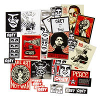 OBEY STICKER PACK 4 (ASSORTED)