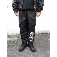LONELY論理 #9 LONELY TOKYO FLIGHT PANTS (BLACK)