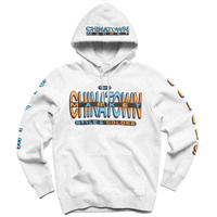 CHINATOWN MARKET STYLE CLOSS COLOR HOODIE ( ASH GREY, BLACK)