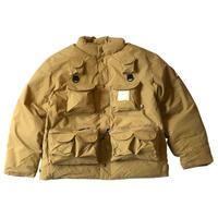 Woods Fishing Jacket (BEIGE, BLACK)