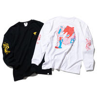 坩堝 RUTSUBO Nesshisen LST-Shirts「RUTSUBO×YUSUDA」(BLACK, WHITE)