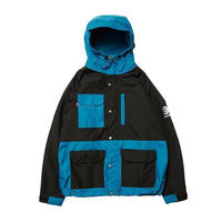 Evisen Skateboardsゑ BLUE MOUNTAIN PARKA BEIGE x ORANGE, GREEN x BROWN, TURQUOISE x BLACK)