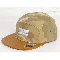 DL Headwear Omega 5Panel Camp Cap (preppy camo)