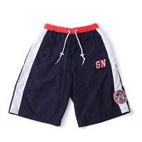 "GALFY ×  NEMES ""GF"" BASKET SHORTS (Navy / Red)"