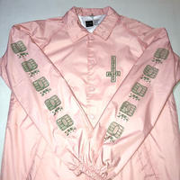 CHOCOLATE DARKSIDE MICROCHIP COACH JACKET (LIGHT PINK, BLACK)