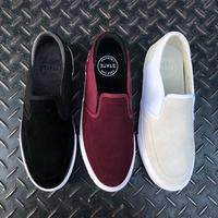 STATE FOOTWEAR KEYS (BLACK / PEWTER SUEDE, BLACK CHERRY / WHITE SUEDE, BONE WHITE SUEDE)