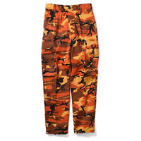 ROTHCO COLOR CAMO TACTICAL BDU PANTS (SAVAGE ORANGE CAMO)