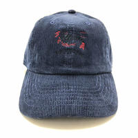 "ATTACK ORIGINAL PRAWNS ""corduroy cap"" (NAVY)"