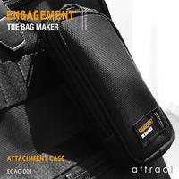ENGAGEMENT エンゲージメント Engaged Nylon エンゲージド・ナイロン アタッチメントケース 拡張用ミニケース EGAC-001